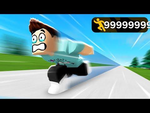 I got TOO FAST in Speed Run Simulator and broke the game..