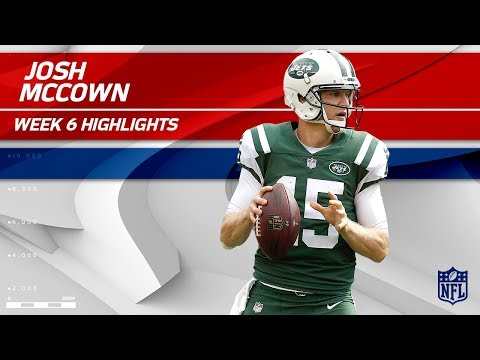 Video: Josh McCown's Crazy Game w/ 353 Passing Yards & 2 TDs! | Patriots vs. Jets | Wk 6 Player Highlights