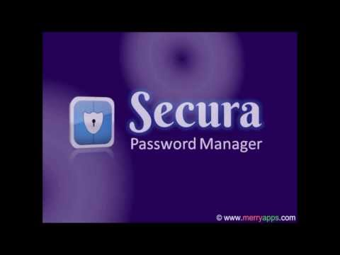 Video of Secura Password Manager
