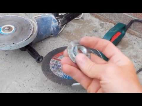 диск от болгарки в дрель