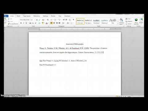 Apa annotated bibliography for websites