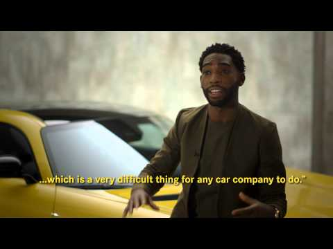 BTS: GQ's Best-Dressed 2015 photo-shoot with Tinie Tempah and the AMG GT | Mercedes-Benz UK