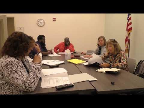 Agenda Setting Meeting December 2, 2019