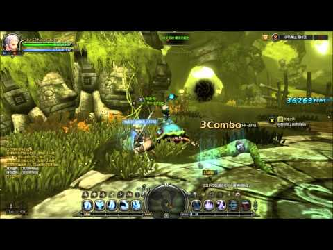 Dragon Nest: Level 50 Moonlord/Warlord Solo Gameplay (T3)