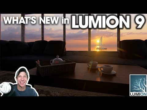 What's New in LUMION 9! (Real Time Rendering!)