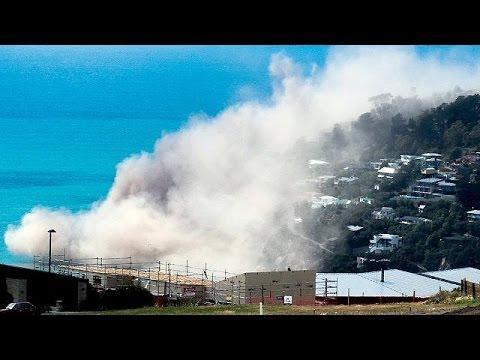 Ν.Ζηλανδία: Ισχυρός σεισμός ξεκόλλησε βράχια