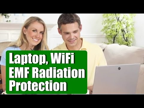 Laptop, WiFi EMF Radiation Protection