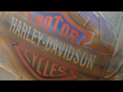 Harley Davidson airbrush