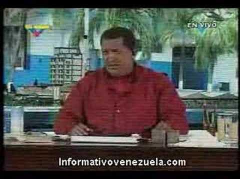 Hugo Chávez insulta a Alvaro Uribe: Triste peón