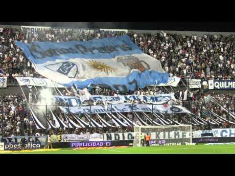 Salida de Quilmes a la cancha frente a Estudiantes Fecha 10 TF - Indios Kilmes - Quilmes