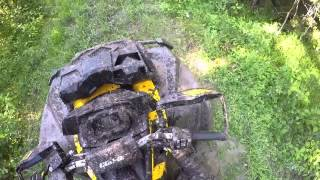 6. Mudding Ride Along On A 2015 Can Am Outlander XMR 800
