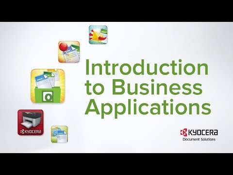 Business Applications Intro from Kyocera