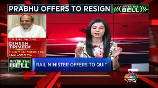 Suresh Prabhu Offers To Resign As Railways Minister