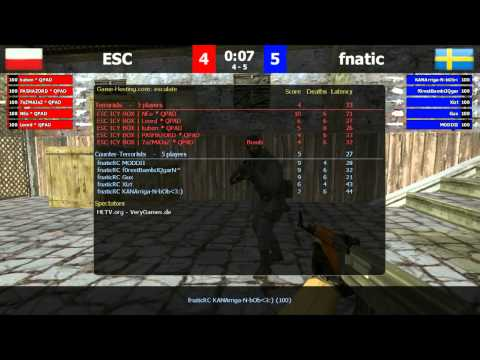 FCL Relegations: FnaticRC vs ESC de_inferno