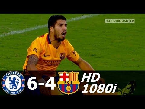 Челси - Барселона 2-2(4-2) - Обзор Контрольного Матча 29072015 HD