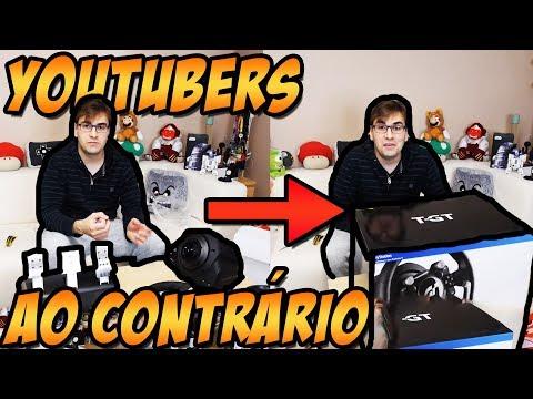 COMO SERIAM OS CANAIS DO YOUTUBE AO CONTRÁRIO? #2