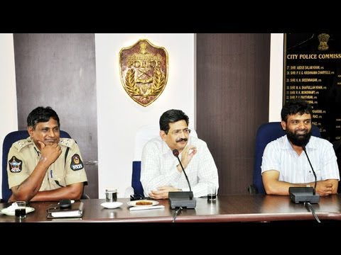POLICE COMMISSIONERS, Cyberabad/Hyderabad & IREF kids