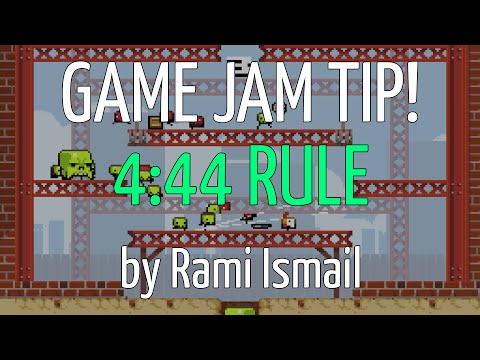 4:44 Rule - Rami Ismail (Vlambeer) - Nordic Game Jam 2016