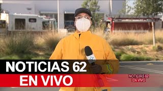 Incendios en California parecen invencibles – Noticias 62 - Thumbnail
