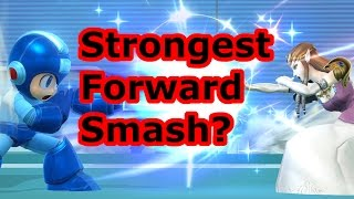 Who Has The Strongest Forward Smash In SSB4? (Based Horizontally)