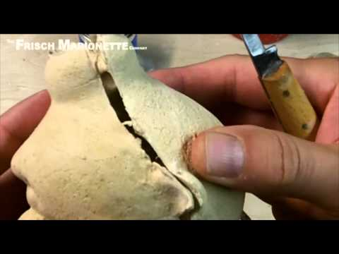 Frisch Marionette Tutorial: Making Puppet Heads with MendALL Wood Filler