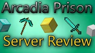 IP: arcadiaprison.usThis is a smaller sized OverPowered Prison Server with many ranks that you can work for, many donor ranks, and a really chill community.Thanks for watching!