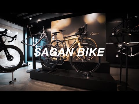 LIMITED EDITION SAGAN GOLD BIKE!