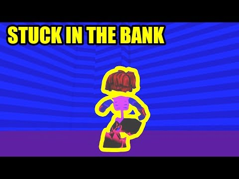 I got STUCK INSIDE THE BANK...  Roblox Mad City Update Leaks