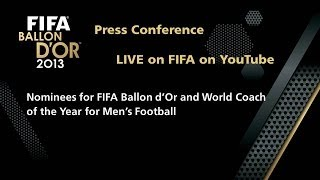 REPLAY: FIFA Ballon D'Or&World Coach Of The Year Nominee Press Conference