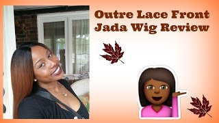 Wig Review Natural Middle Part Outre Lace Front Jada