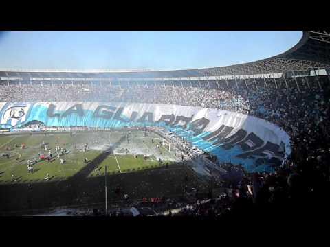 Racing-Independiente en el estadio Estadio Presidente Perón