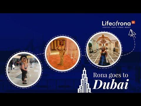RONA GOES TO DUBAI FOR THE #adekani WEDDING!!!