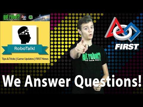 New FTC Technology/Q&A | RoboTalk!