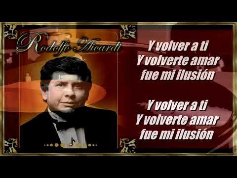 Solo Cenizas Quedaron   Rodolfo Aicardi   Letra