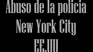 EE.UU: (VIDEO) Abuso de la policia, New York City, EE.UU