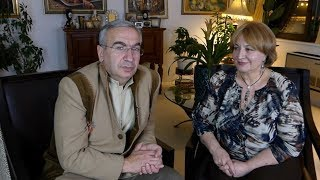 Gagik Ginosyan Interview with Karine Kocharyan in New York