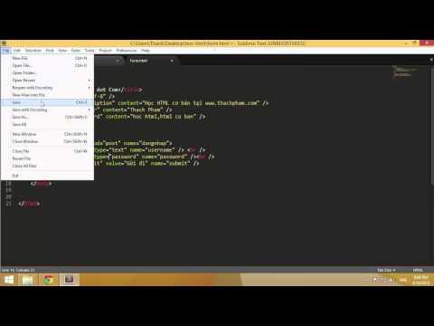 Học HTML cơ bản cùng Thạch Phạm (P9)