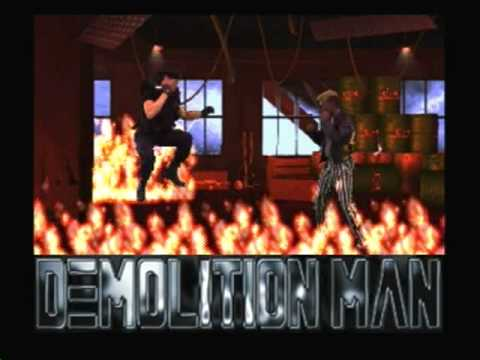 demolition man 3do game over
