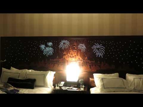 Disneyland Hotel Beds