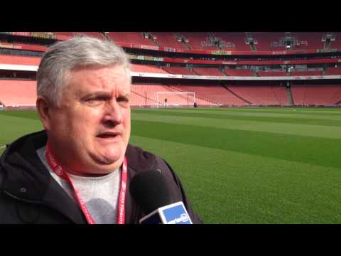 Video: Arsenal v Everton: Pitchside build-up from the Emirates