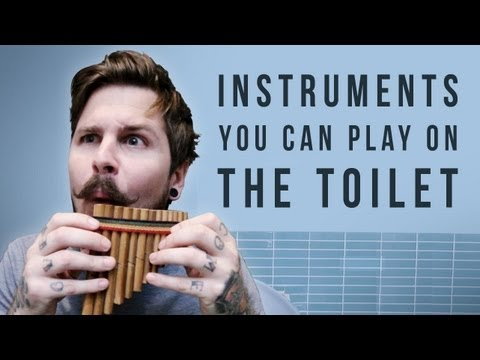Instruments You Can Play On The Toilet