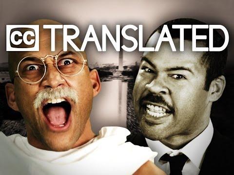 [TRANSLATED] Gandhi vs Martin Luther King Jr. Epic Rap Battles of History. [CC]