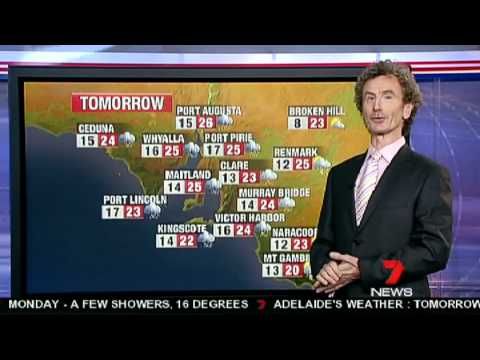 Australia - Tim Noonan Weather Report