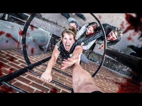 Zombie Chase Parkour POV - Last Empire War Z (видео)