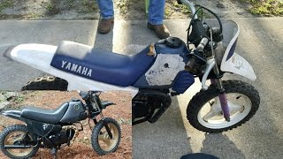 9. Yamaha PW50 Part 1