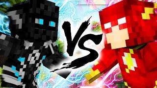 FLASH VS ZOOM SUPER HERO Minecraft Mod RACE