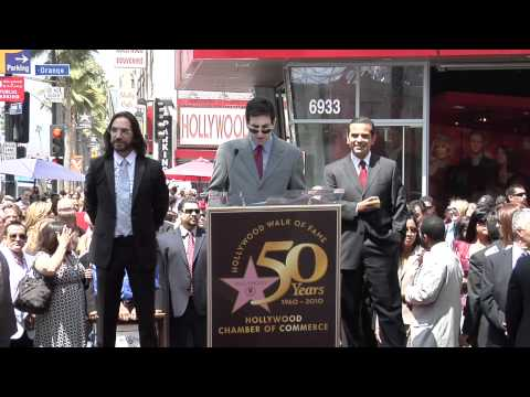 Marco Antonio Solis Walk of Fame Ceremony