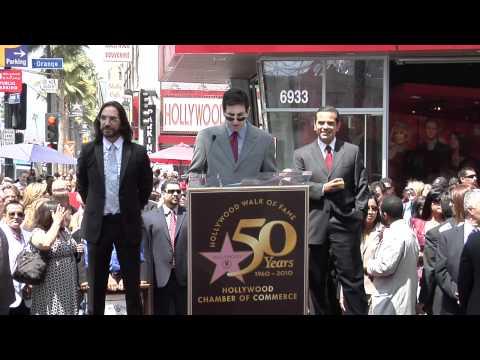 Marco Antonio Solis Walk of Fame Ceremony
