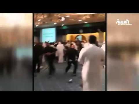 #فيديو :: وفاة 5 وإصابة 9 ومقتل مطلوب في#سيهات
