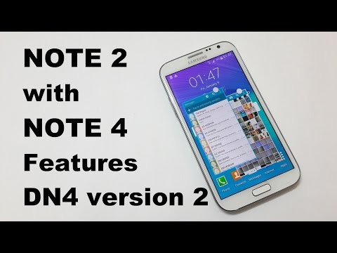 Note 4 features on Galaxy Note 2 – DN4 version 2 ROM